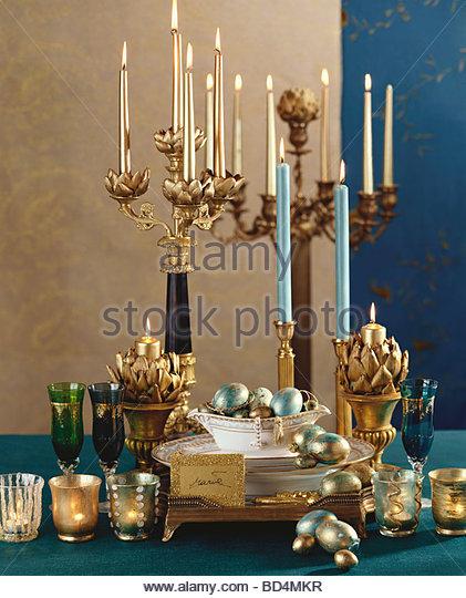 Christmas decorations (Baroque style) - Stock-Bilder