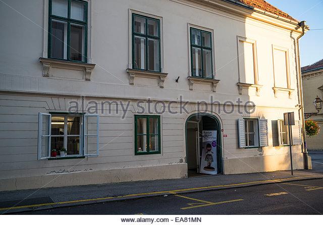 Museum of Broken Relationships, Upper Town, Zagreb, Croatia - Stock Image