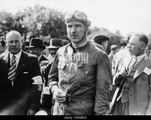 Dick Seaman, 1930s. - Stock Image