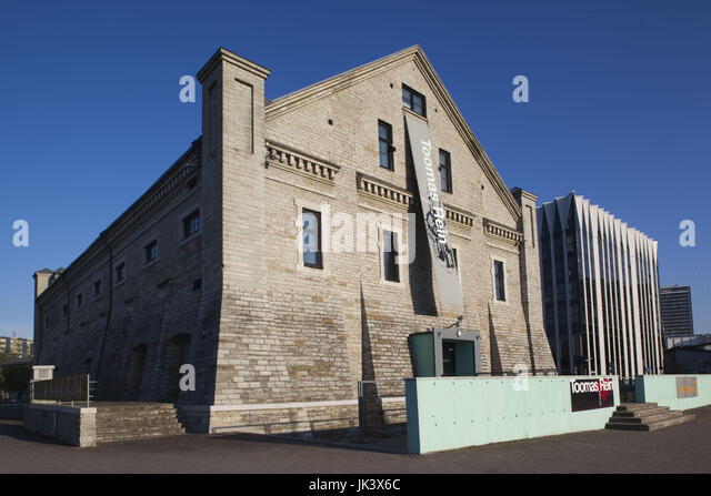 Estonia, Tallinn, Old Town, Museum of Estonian Architecture - Stock Image