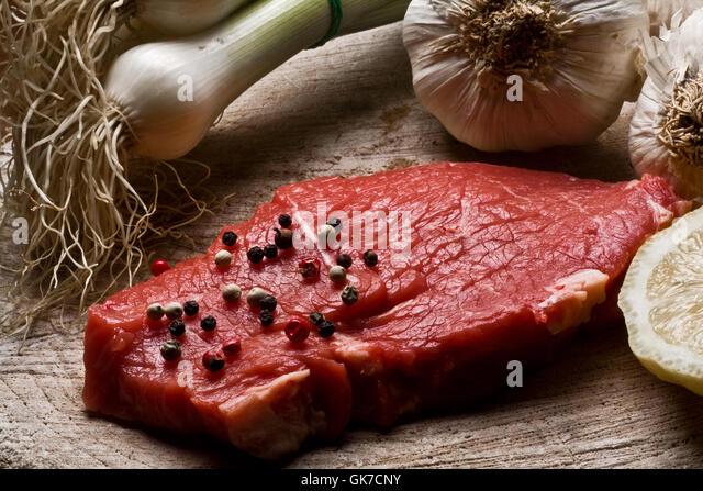 still life food aliment - Stock Image