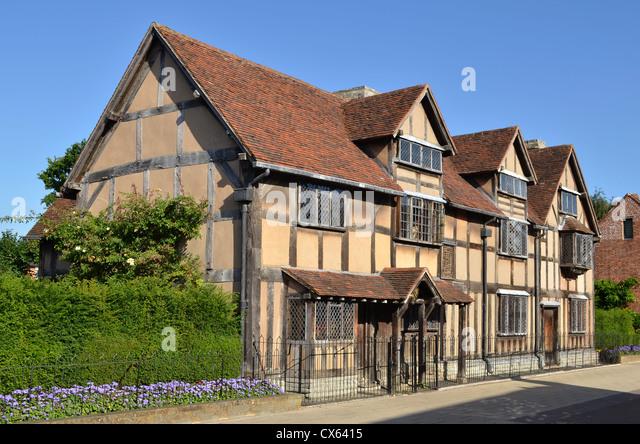 Shakespeare's Birthplace, Stratford-upon-Avon, Warwickshire, UK - Stock-Bilder