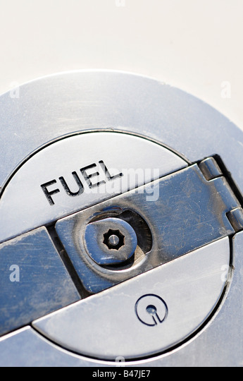 Fuselage fuel on a super yacht. Picture by Patrick Steel patricksteel - Stock Image