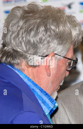 Rolf Harris Lionel Blair celebrates 60 years in showbusiness at the Dorchester hotel London, England - 31.05.09 - Stock Image