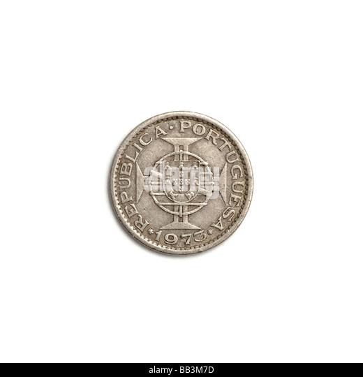 Mozambique coin - Stock Image