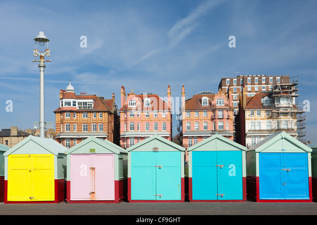 Victorian Beach Huts Stock Photos Victorian Beach Huts Stock Images Alamy