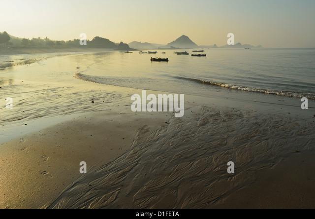 Kuta Beach, Kuta, Lombok, Indonesia, Southeast Asia, Asia - Stock Image