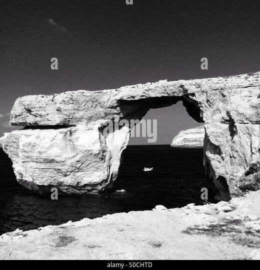 Gozo, Azzure Window - Stock Image