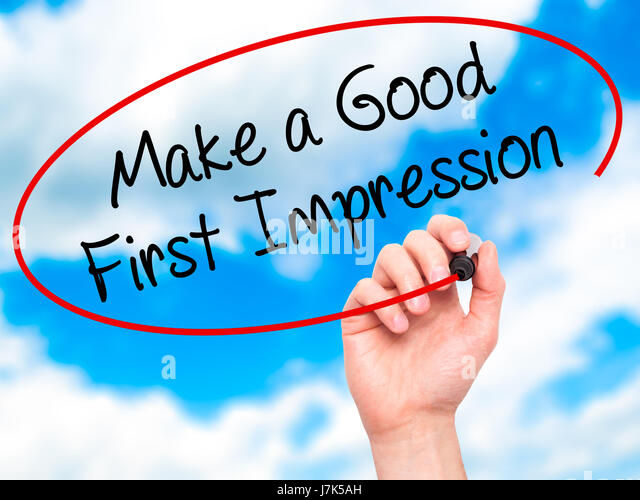 Persuasive essay first impressions