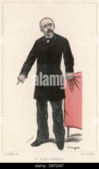 Georges Clemenceau - Stock Image