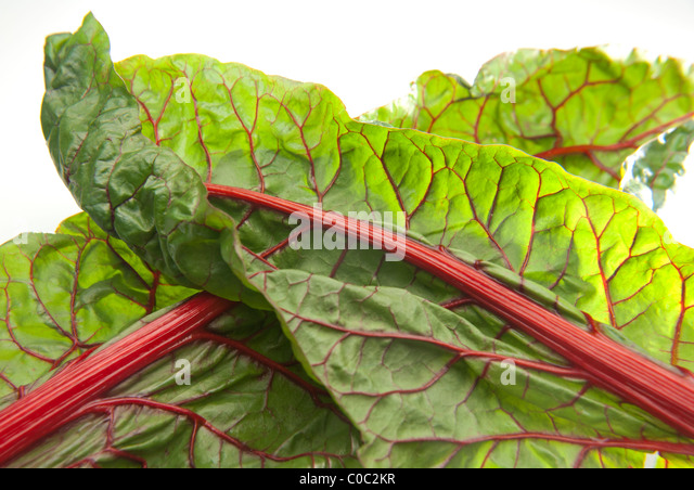 how to clean red swiss chard