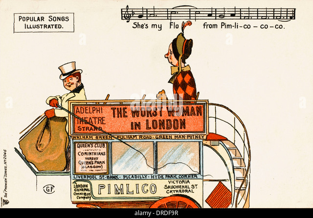 Popular Songs Illustrated - Pimlico - Stock Image