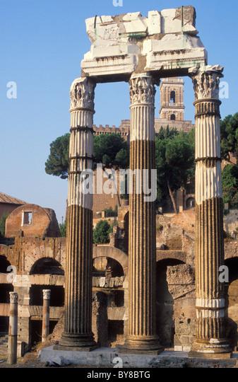 FORUM ROMANUM, ANTIQUITY, ROME, ITALY - Stock Image