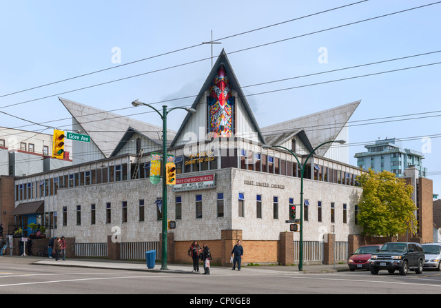 First United Church, Vancouver - Stock Image