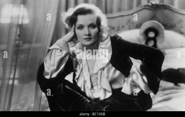 Marlene Dietrich (1901-1992), German-born American actress, singer and entertainer, 20th century. - Stock Image