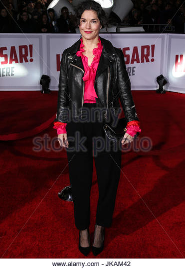 Heather Goldenhersh. WESTWOOD, LOS ANGELES, CA, USA - FEBRUARY 01: Los Angeles Premiere Of Universal Pictures' - Stock Image