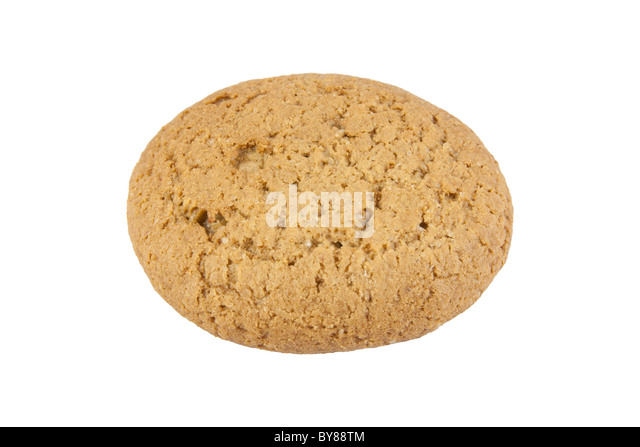 Cookies with sugar powder on blue and white background