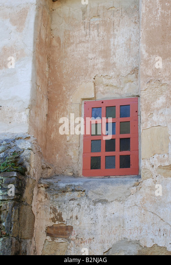 San carlos walls in old stock photos san carlos walls in for Mission stucco