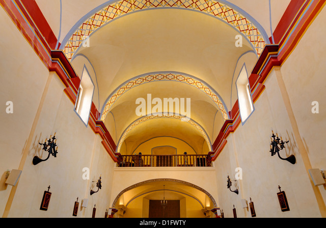 Mission San Jose, San Antonio, Texas, United States of America, North America - Stock Image