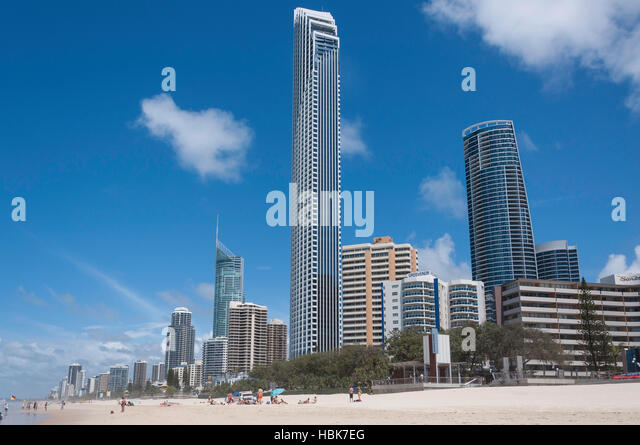 Peppers Soul Surfers Paradise building, Surfers Paradise Beach, Surfers Paradise, City of Gold Coast, Queensland, - Stock Image