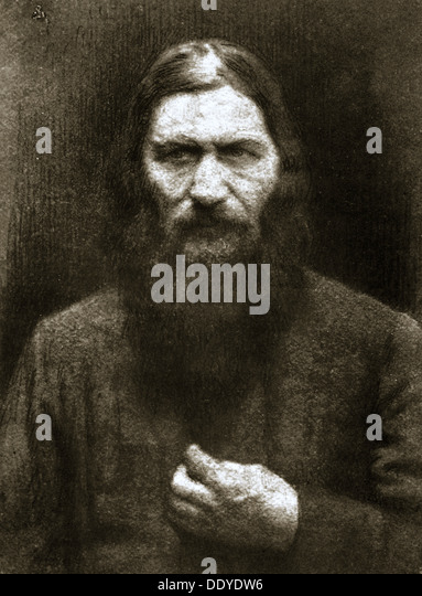 Rasputin, Russian mystic, early 20th century. - Stock-Bilder
