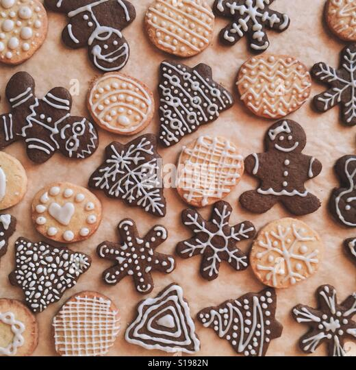Holiday Cookies - Stock Image