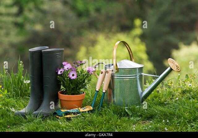 Agriculture tools stock photos agriculture tools stock for Agriculture garden tools
