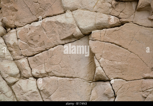 an old natural stone texture with cracks - Stock-Bilder