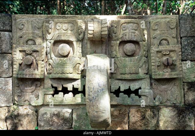 Olmec head stock photos images alamy