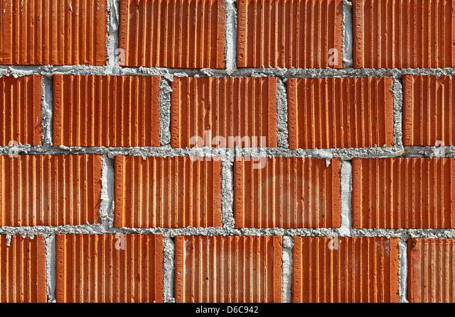 Red Brick Wall - Stock-Bilder