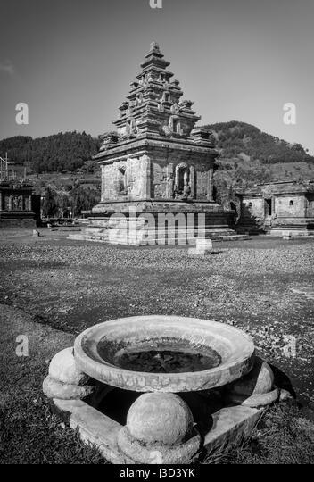 Candi Arjuna at Dieng Plateau - Stock Image