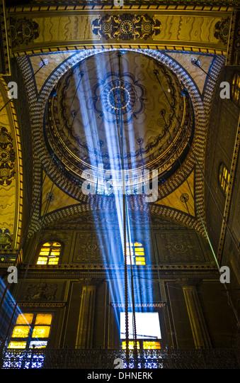 Africa, Egypt, Cairo, Salah Al Din citadel, the Mohammad Ali mosque - Stock Image