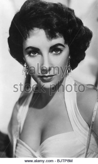 Elizabrth Taylor, English-American actress, c1950s(?). - Stock Image