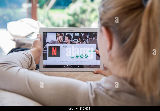 how to get american netflix on a tablet