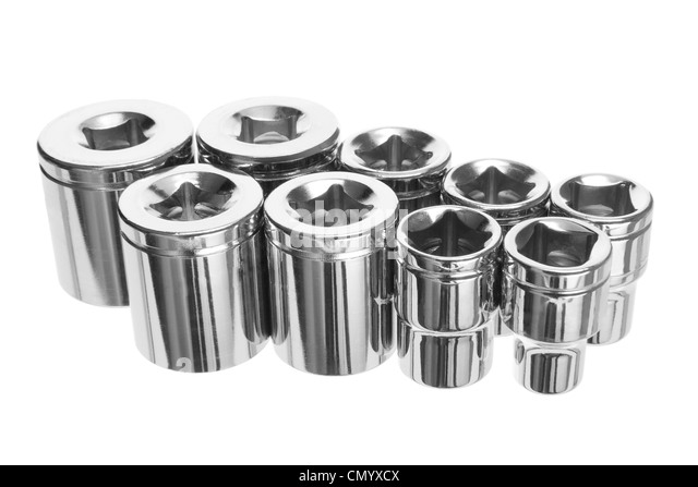 Torx Socket Set - Stock Image