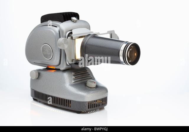 Retro projector - Stock Image