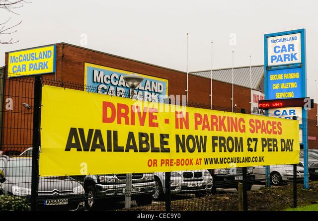 Mccausland Car Park Belfast International Airport