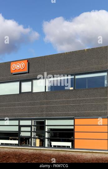 TNT express office - Stock Image