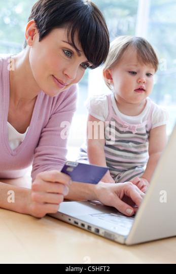 Online shopping - Stock Image