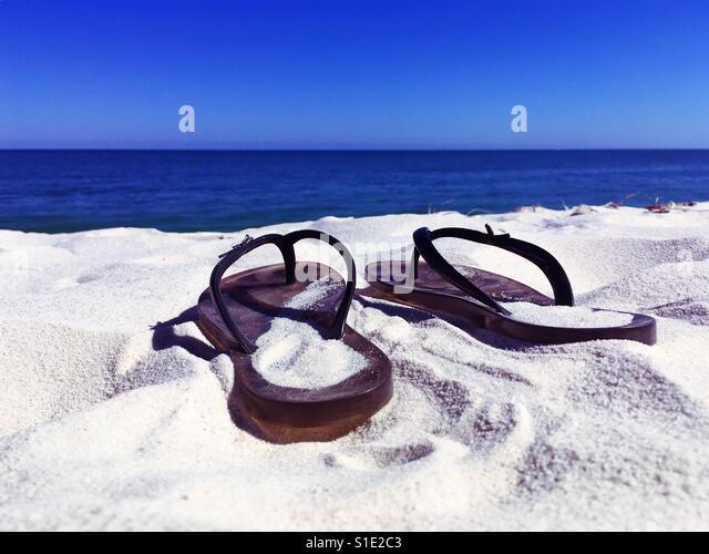 Day at the beach - Stock-Bilder