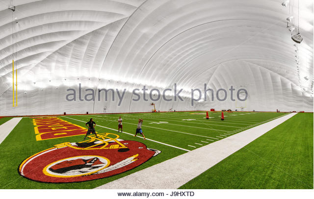 The Washington Redskins football practice facility in Ashburn, Virginia. - Stock Image