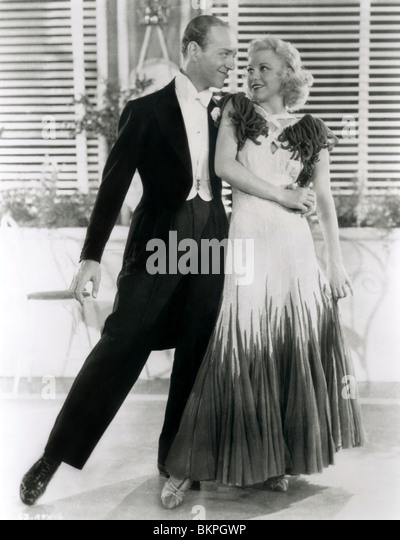THE GAY DIVORCEE (1934) FRED ASTAIRE, GINGER ROGERS GAYD 002P - Stock Image