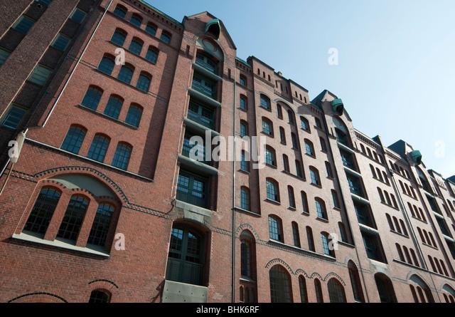 Speicherstadt, Hamburg, Deutschland   Speicherstadt, Hamburg, Germany - Stock-Bilder