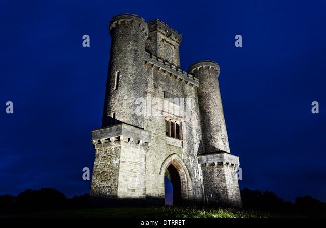 Paxtons Tower Llanarthne Carmarthenshire Wales Stock ... | 640 x 446 jpeg 61kB