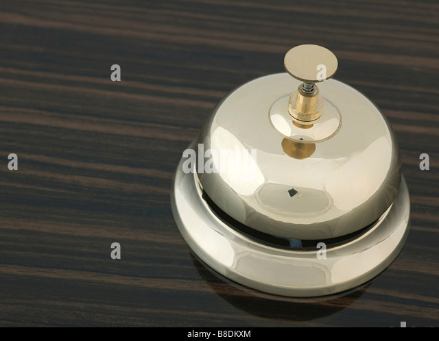 Service bell - Stock Image