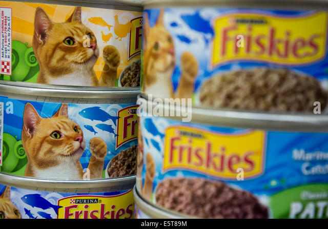Friskies Canned Cat Food Flavors