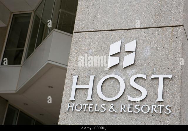 The headquarters of Host Hotels & Resorts.  - Stock-Bilder