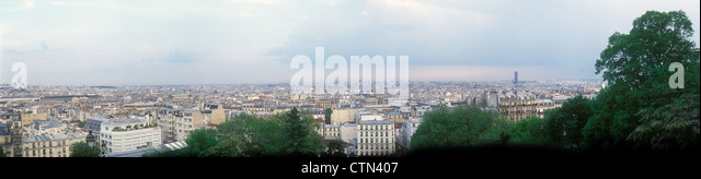 Paris panorama. - Stock-Bilder