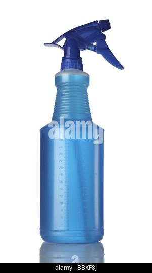One 1 spray bottle - Stock Image