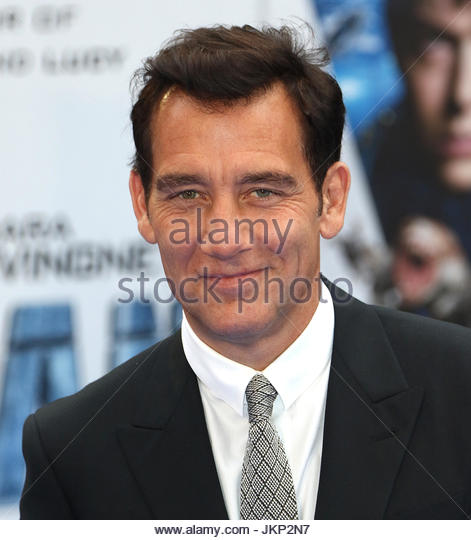London, UK. 24th July, 2017. Clive Owen is among the stars in attendance at the European premiere of Valerian and - Stock Image